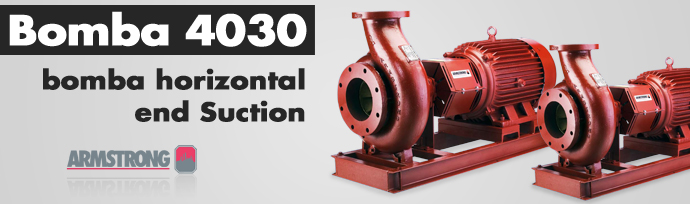 Bomba 4030 - Bomba Horizontal End Suction